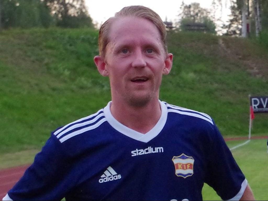 Håkan Åström gjorde två av Kovlands mål mot Wiskan.