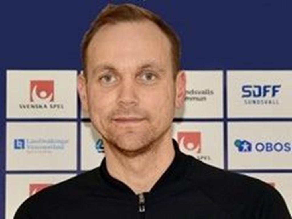 SDFF-tränaren Mikael Melin Bhy.