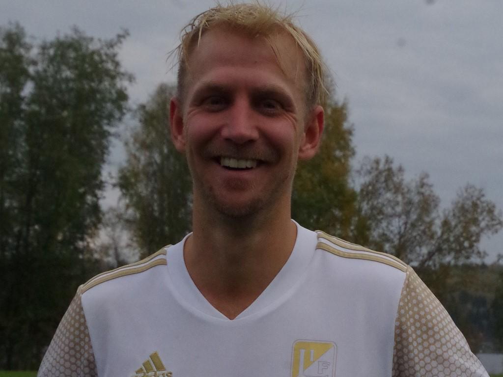 Oliver Widahl gav Lucksta en tidig ledning.