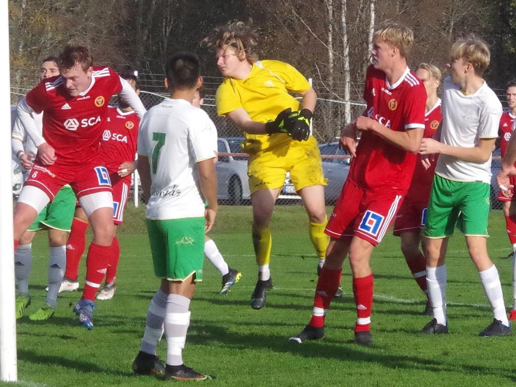 Vilgot Alséns 3-0-mål strax efter tvåan och även det efter en hörnspark.
